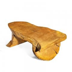 A Low Maxie Lane elm Coffee Table - 1219271