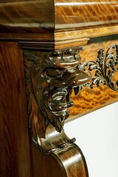 A Magnificent Antique Carved Fireplace Mantel - 94770