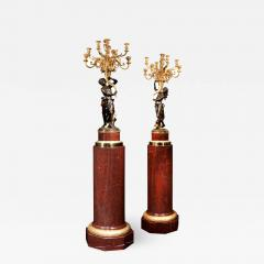 A Magnificent Pair of Louis XVI Candelabra after Clodion - 1676654