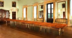 A Magnificent Royal Mahogany and Parcel Gilt Extension Dining Table c 1861 - 271999
