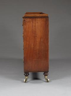 A Mahogany George III Collectors Chest Of Unusual Slender Proportions - 1066992