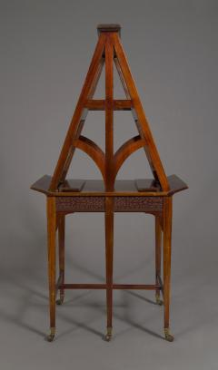 A Mahogany George V Retractable Folio Stand Or Easel With Fretwork Decoration - 923230