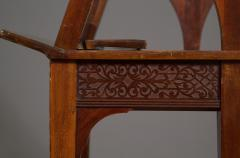A Mahogany George V Retractable Folio Stand Or Easel With Fretwork Decoration - 923231