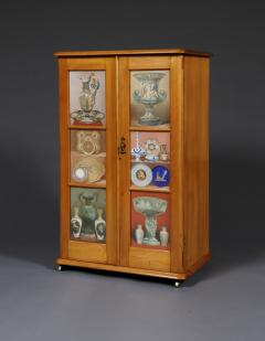 A Maple Side Cabinet Mounted With Illustrations Of Great Exhibition Objects - 1378667