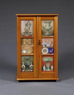 A Maple Side Cabinet Mounted With Illustrations Of Great Exhibition Objects - 1378669