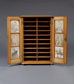 A Maple Side Cabinet Mounted With Illustrations Of Great Exhibition Objects - 1378680