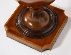A Matched Pair of English Mahogany Cutlery Urns - 1312476
