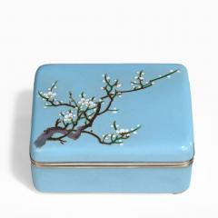 A Meiji period cloisonn box - 744930