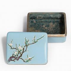A Meiji period cloisonn box - 744931