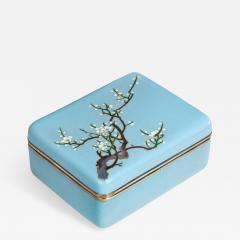 A Meiji period cloisonn box - 745493