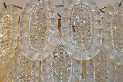 A Midcentury Molded Glass Chandelier - 670551