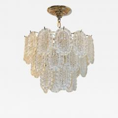 A Midcentury Molded Glass Chandelier - 671191