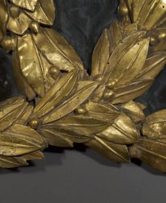 A Mirror in the form of Laurel Wreaths retaining its original gilding - 1036738