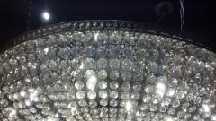 A Monumental and Spectacular Crystal Basket Chandelier - 100282