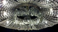 A Monumental and Spectacular Crystal Basket Chandelier - 100283