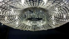 A Monumental and Spectacular Crystal Basket Chandelier - 100284
