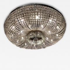 A Monumental and Spectacular Crystal Basket Chandelier - 106562