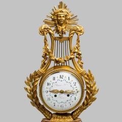 A Napoleon III Lyre clock with ormolu hand - 828515