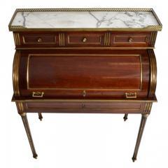 A Napoleon III Mahogany Bureau A Cylindre 19th C France - 167788