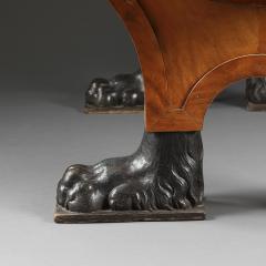 A Neoclassical Center Table With Belge Top Modeled After The Tomb Of Agrippa  - 755053
