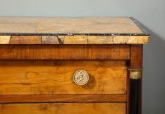 A Northern Italian Neoclassic Sienna Marble Topped Commode - 1116635