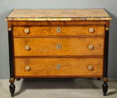 A Northern Italian Neoclassic Sienna Marble Topped Commode - 1116637