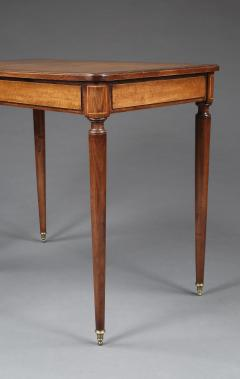 A Pair Of Mahogany And Birds Eye Maple Occasional Tables In The Directoire Taste - 1293332