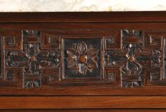 A Pair Of Neoclassical Two Door Cabinets With Marble Tops - 1307253
