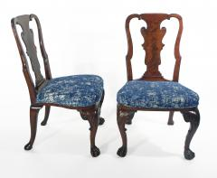 A Pair of American Walnut Side Chairs - 1177844