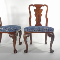 A Pair of American Walnut Side Chairs - 1177845