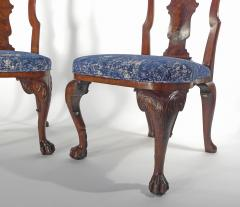 A Pair of American Walnut Side Chairs - 1177846