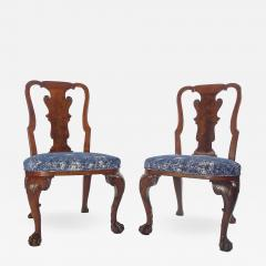 A Pair of American Walnut Side Chairs - 1177891