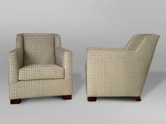 A Pair of Art Deco Club Chairs by Dim - 454006