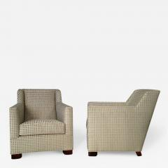 A Pair of Art Deco Club Chairs by Dim - 454803