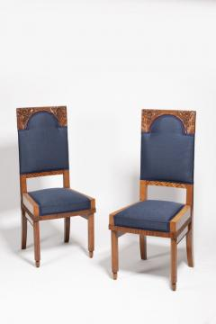 A Pair of Art Nouveau Chairs by Bohumil Waigant - 1855385
