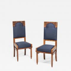 A Pair of Art Nouveau Chairs by Bohumil Waigant - 1857889