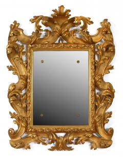 A Pair of Carved and Gilded Baroque Mirrors - 115621