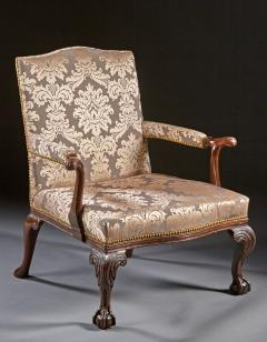 A Pair of Chippendale Gainsborough Chairs - 554417