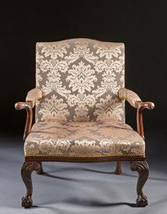 A Pair of Chippendale Gainsborough Chairs - 554418