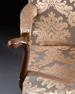 A Pair of Chippendale Gainsborough Chairs - 554421
