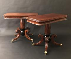 A Pair of Classical Games Tables - 1409590
