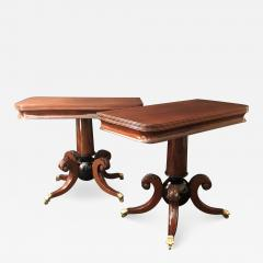 A Pair of Classical Games Tables - 1411264