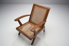 A Pair of French Teak Armchairs France 1950s - 1763398