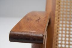 A Pair of French Teak Armchairs France 1950s - 1763400