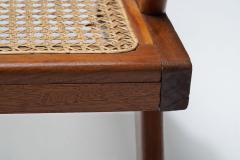 A Pair of French Teak Armchairs France 1950s - 1763403