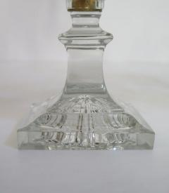 A Pair of George III Crystal Two Light Candelabra - 1912451