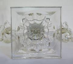 A Pair of George III Crystal Two Light Candelabra - 1912455