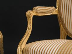 A Pair of George III Giltwood Armchairs - 1308175