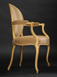 A Pair of George III Giltwood Armchairs - 1308176
