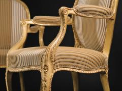 A Pair of George III Giltwood Armchairs - 1308177
